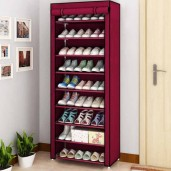 Multi-Layer Dust Proof Cloth Shoe Cabinet