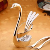 Stainless steel fruit fork western restaurant gift set