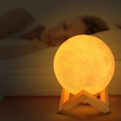 Romantic 3D Print Moon Lamp
