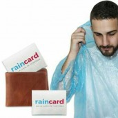 Credit Card Sized Raincoat ( 3pcs pack )