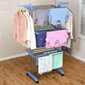 Three Layer Clothes Rack