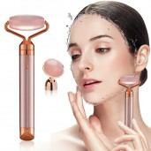 Flawless Contour Facial Massager Jade with Eye Stone