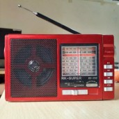 RK Super AC/DC 9 Band Radio With USB/SD Player
