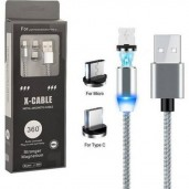 2 in 1 x cable magnetic